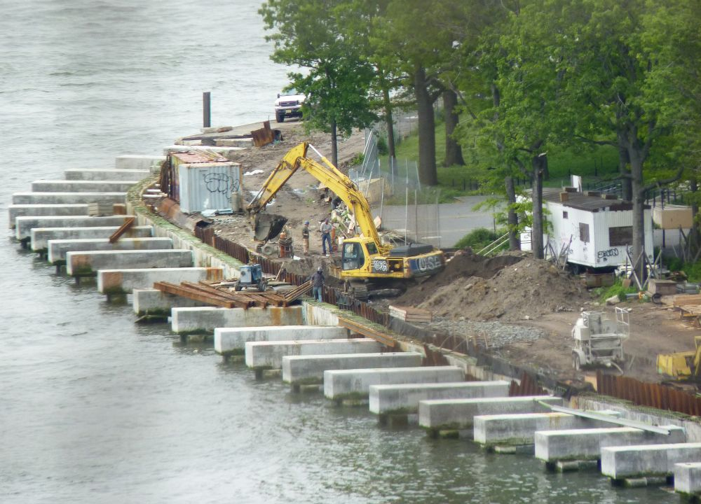 East River Park Construction