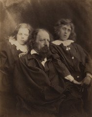 Alfred Tennyson and His Sons Hallam andLionel