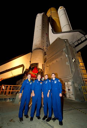 Atlantis STS-135 Rollout (201105310020HQ)