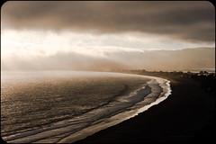 Great Light (tripowski) Tags: california sunset sea sky usa cloud lake beach water silhouette america evening coast highwayone nikon marin 85mm highway1 marincounty f18 d700