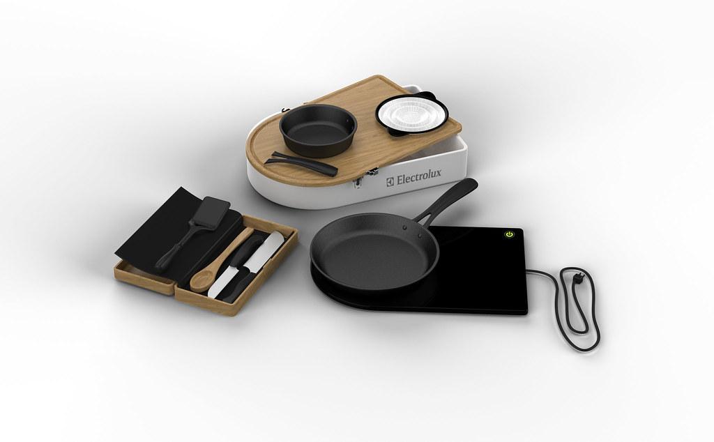 Mobile Kitchen Kit, Elizabeth Reuter, USA