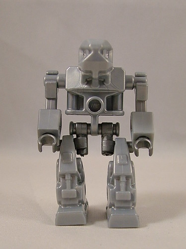 Exo-Force Robot with BA Monopod Legs and Arms custom minifig