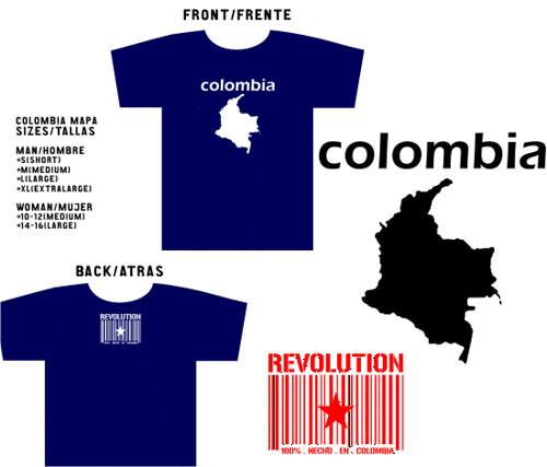 Colección 2003 - Colombia Mapa