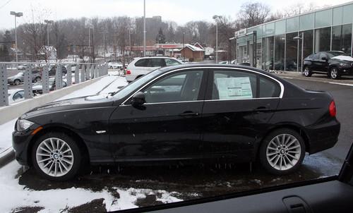 BMW 335d side