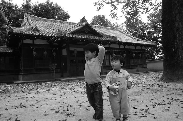 嘉義市史蹟資料館(黑白)24
