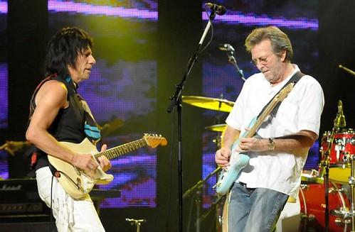 Clapton Jeff Beck 21 Februari 2009 Saitama Japan