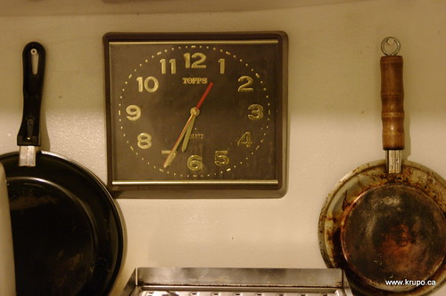 Victory Clock and Pans