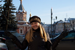 Olya in Yaroslavl (Elinalipona) Tags: city winter portrait people girl face nice russia february russian 2009 olya yaroslavl russiangirls
