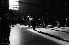 8:46 AM (CVerwaal) Tags: nyc newyorkcity newyork analog shadows kodak trix ishootfilm oldschool 400tx grandcentralstation grandcentral commuters grandcentralterminal minox35gt