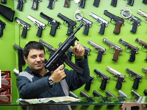 Guns, guns, guns by paljoakim, on Flickr