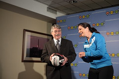 Attorney General Greg Zoeller and Misty May Treanor (century council) Tags: usa dc washington greg general may  listen beach zoeller scenes greg council professional century general behind misty may athlete volleyball attorney ask learn treanor volleyball attorneys zoeller