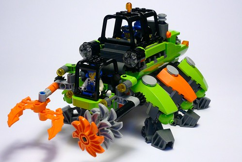 Lego Power Miners Walker By Bob Newill The Brothers