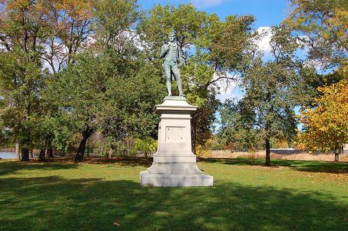 Burns Statue