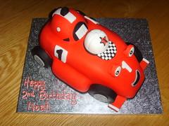 Roary The Racing Car Cake (thecustomcakeshop) Tags: birthday car cake rory racing birthdaycake roary roarytheracingcarcake roaryracingcar