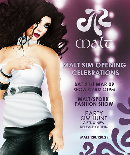 .:MALT:. Opening Invite by Khea Karas.