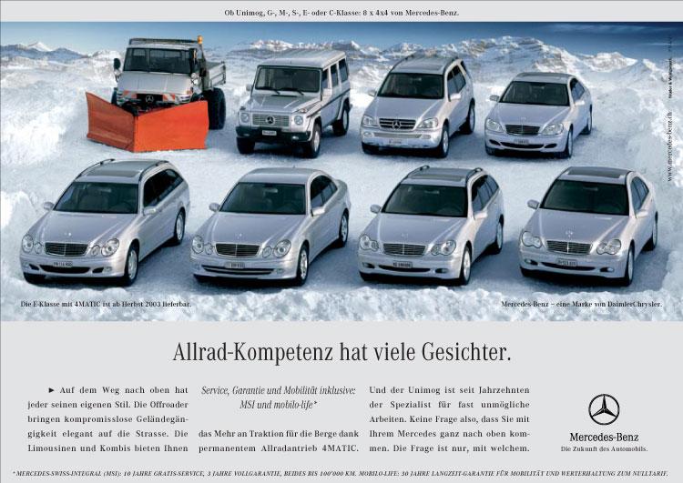 Mercedes-Benz Gipfeltreffen