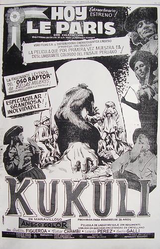 Poster del estreno de Kukuli