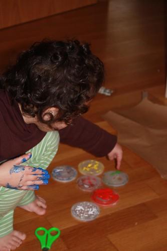 coa pintura de dedos