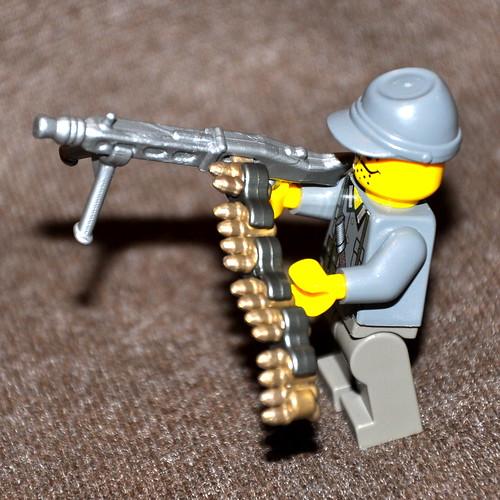 Как сделать патрон из лего