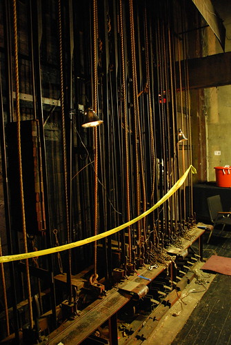 Los Angeles Theatre Backstage