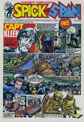 Spick and Span No.1 (Martin Blunt) Tags: comics environmental council oldartwork spickandspan 198586 forschools rochesteruponmedway