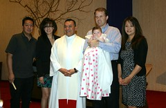 Alina's baptism