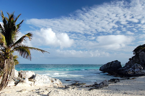 Caribbean near Tulum by mdanys, on Flickr