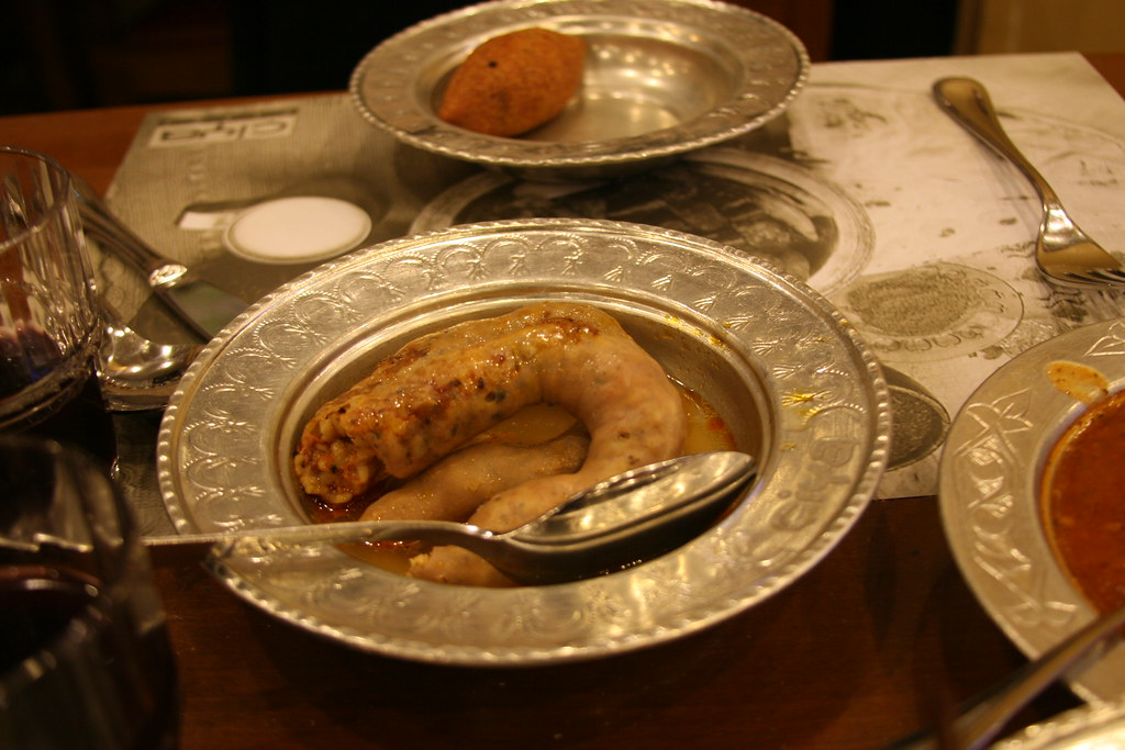 Mumbar Dolma - Stuffed Intestines @ Çiya
