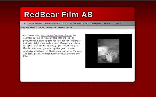 RedBear Film AB