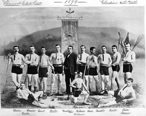 William Notman's Shamrock Club Lacrosse Team