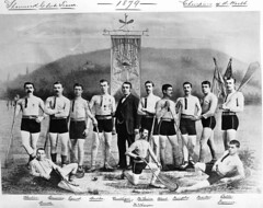 Shamrock Club lacrosse team, Champions of the World, composite, 1879 (Muse McCord Museum) Tags: irish canada composite team quebec montreal protrait lacrosse hibernia qc winners champions 1879 mccordmuseum irlandais shamrockclub teamportrait musemccord