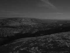 1000FT UP, langholm, in infra-red black and white. (the water watcher 05.) Tags: houses winter sky blackandwhite bw monochrome clouds rural buildings landscape mono scotland landscapes countryside town frost december skies fuji village view hill freezing hills valley views infrared moors wintertime moor borders hilltop moorland eskdale dumfriesandgalloway sedge countryscene dumfriesshire langholm ruralscene s5600 fujifinepixs5600 ir72 whita eskdalevalley whitahill themuckletoon midhill timpen castleholm timpenhill langholmgolfcourse
