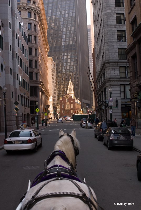 Boston by Horse and Carriage