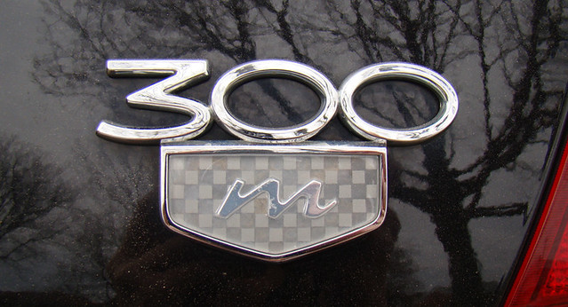 black 2000 chrysler 300m