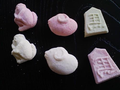 小冨士屋の干菓子