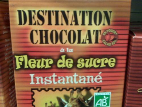 Fleur de sucre - Destination Chocolat