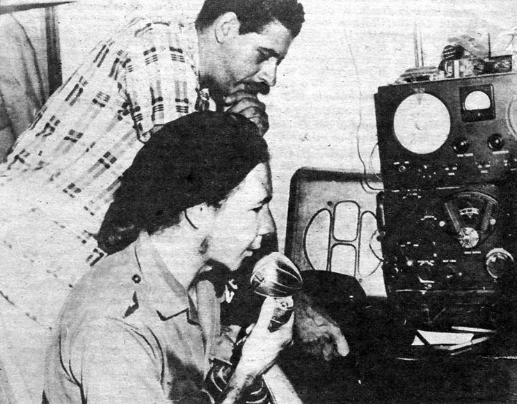 Raul Castro Radio Rebelde 1958