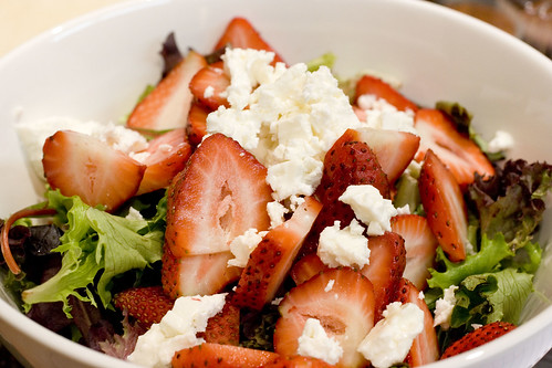 Strawberry and Feta Salad