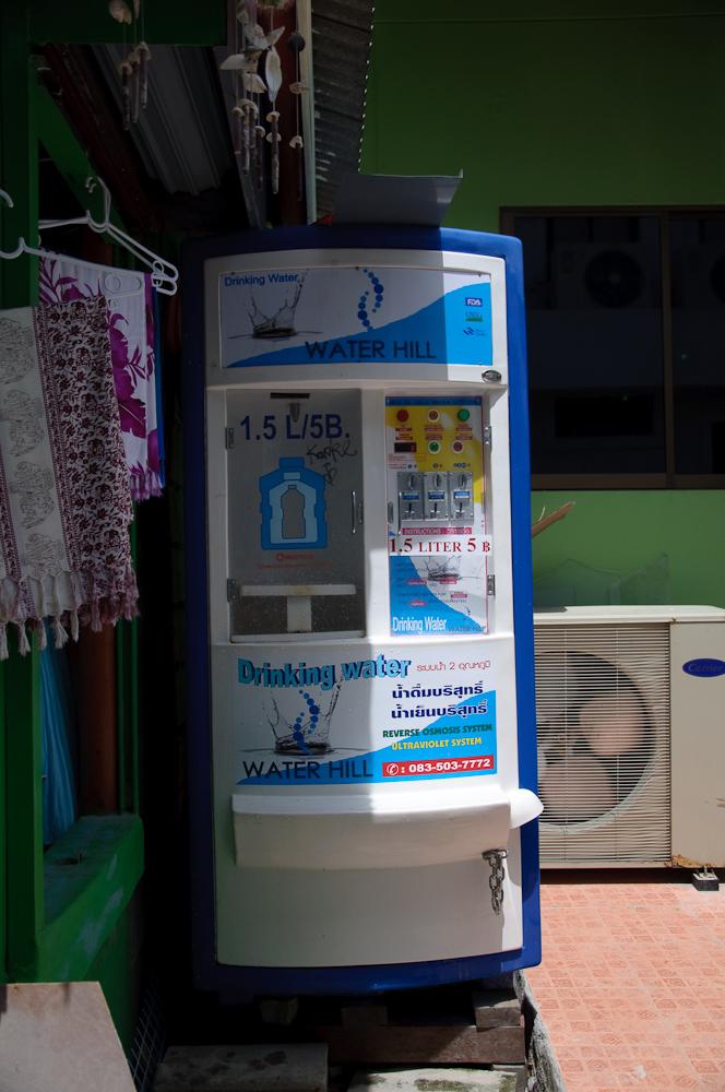 Водозаправочный автомат