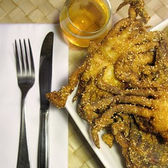 Fried Softshell Crabs for po'boys