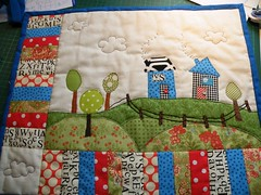 finished:) (monaw2008) Tags: quilt handmade swap patchwork applique dollquilt monaw monaw2008 dqs6