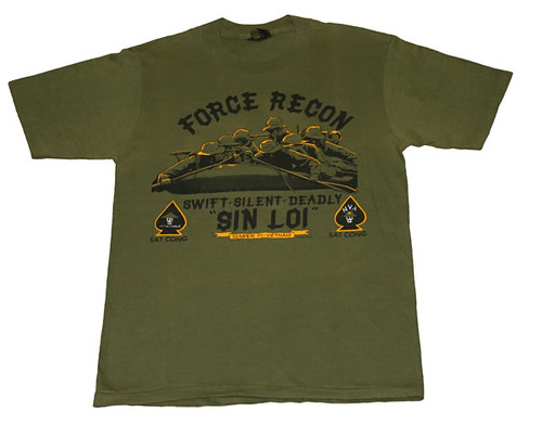 Force Recon Vintage T-shirt