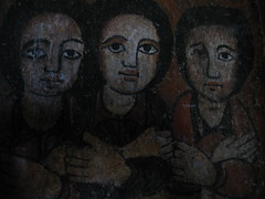 Gondar angels in church