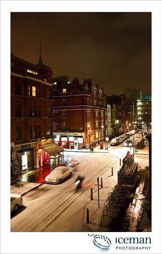 Snow in London 004