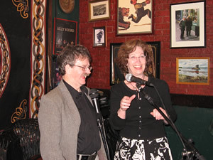 Theresa hosted and did a brilliant job. Yer man John Dingley added some stories from back home in Builth Wells, Wales.