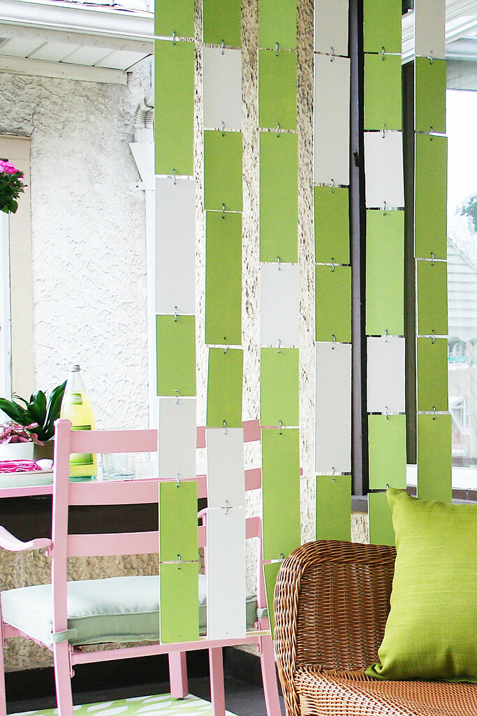 How To Make a Hanging Divider Making it Lovely