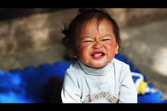Project Hope (3) (James Yeung) Tags: china cute kid asia chinese lovely yunnan oldtown projecthope
