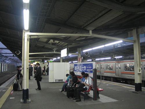 海浜幕張駅の風景
