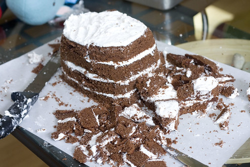 Whale cake - Step 3
