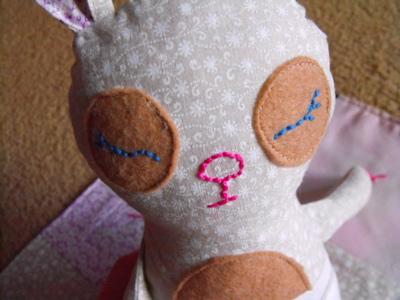 Baby Binky Bunny - sleepy
